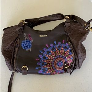 Desigual shoulder satchel bag